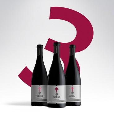 3 Botellas Cruz de Sagrillas